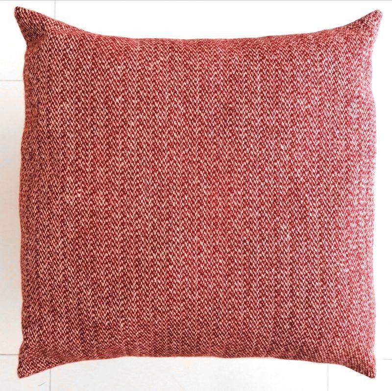 almofada vermelha