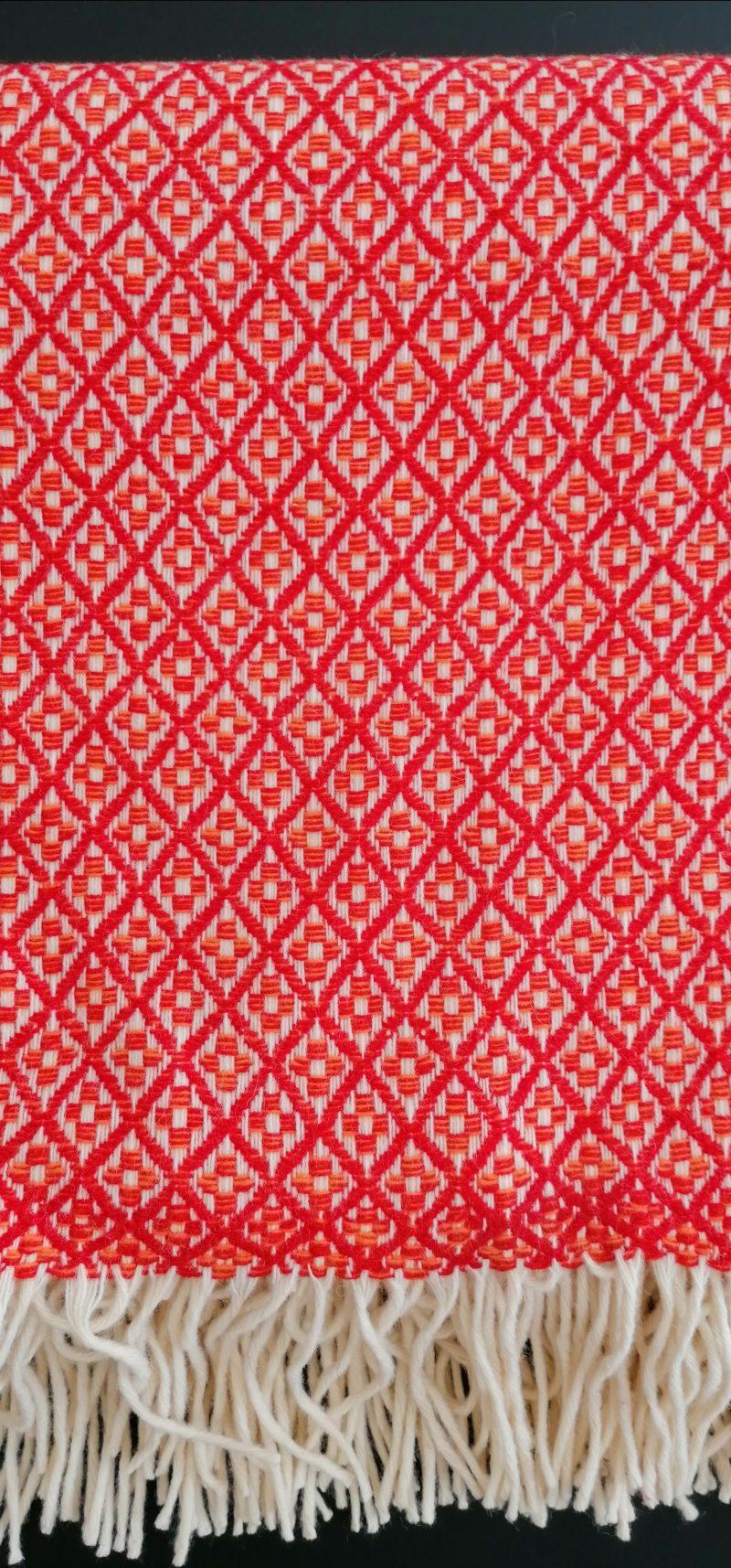 manta vermelho