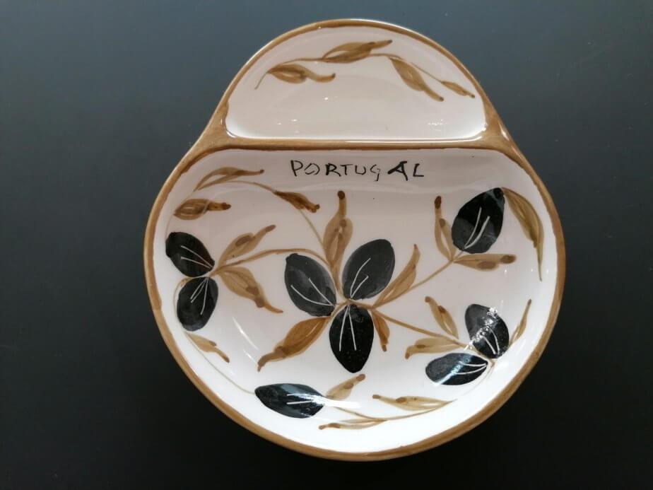 Olive plate - olive pattern