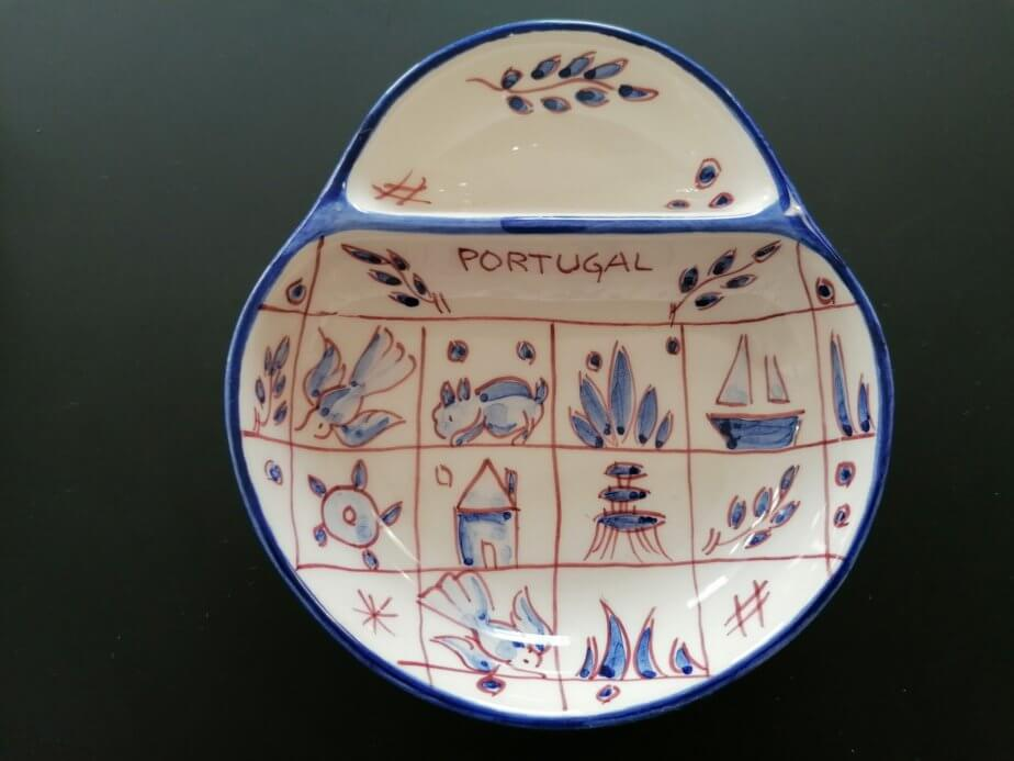 Olive plate - drawing pattern