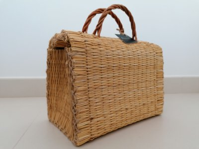 Traditional Reed Basket (natural color)