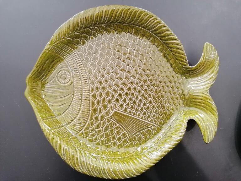 prato peixe - médio verde