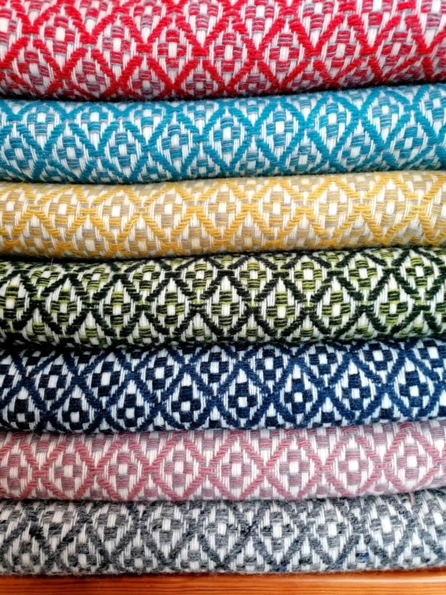 Mantas Lã - várias cores