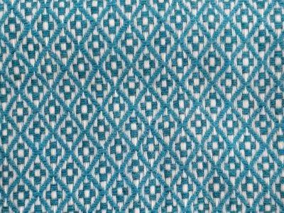 Manta pura lã - Azul Turquesa