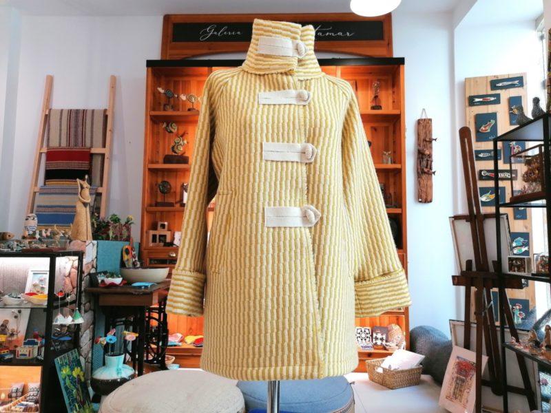 Casaco Lã - Amarelo