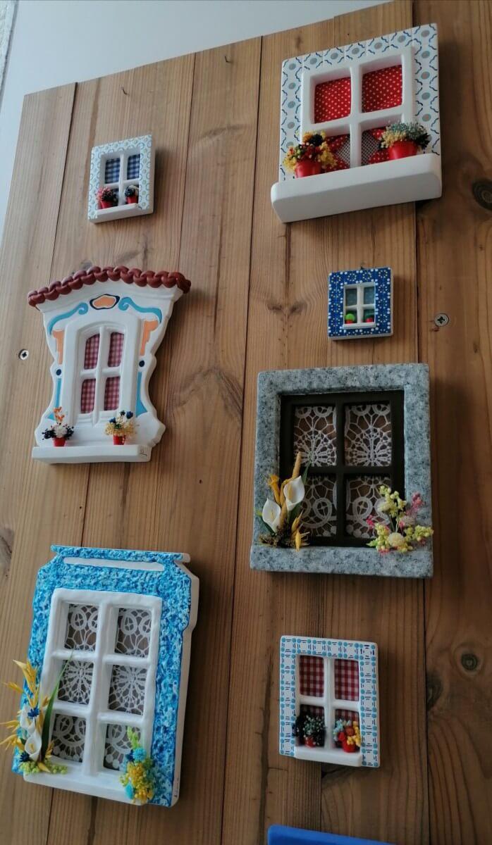 Janelinhas Cerâmica - VÁRIAS