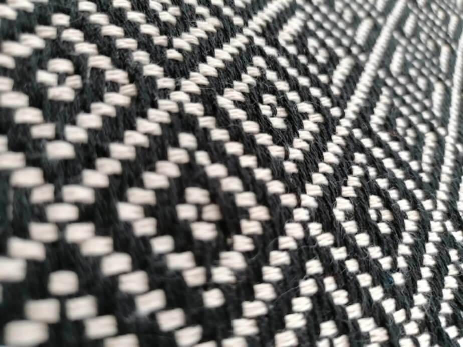 Mantas Algodão - Diamante Preto - detalhe